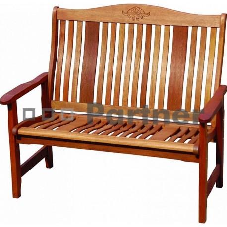 Záhradná lavica pevná dvojmiestna NASHVILLE