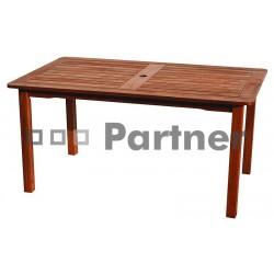 Záhradný masívny stôl NASHVILLE