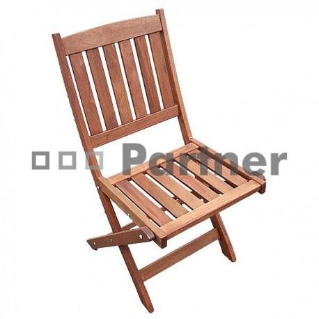 Záhradné stoličky skladacie MERCY 1 ks
