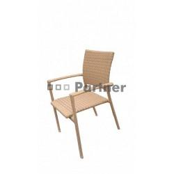 Záhradná stolička béžová