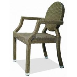 Záhradná ratanová stolička