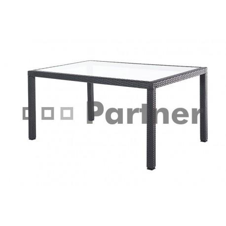 Zahradný stôl z umelého ratanu TSA 2 (150 x 90 cm)