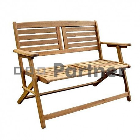 Záhradný lavica skladací dvojmiestna WESTMINSTER