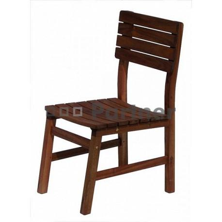 Záhradná stolička pevná GLASGOW 1 ks