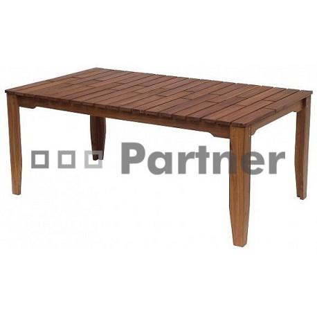 Záhradný stôl obdľžnikový GLASGOW