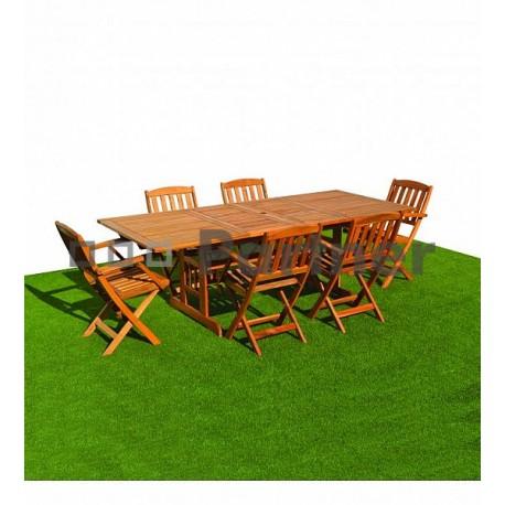 Záhradná zostava nábytku ACAPULCO II. 1+6