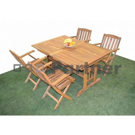 Záhradná zostava nábytku ACAPULCO II. 1+4