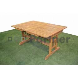 Záhradný obdĺžnikový rozkladací stôl ACAPULCO