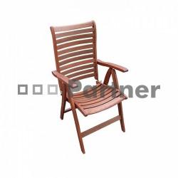 Záhradná stolička BORDEAUX/SYDNEY/AUCKLAND