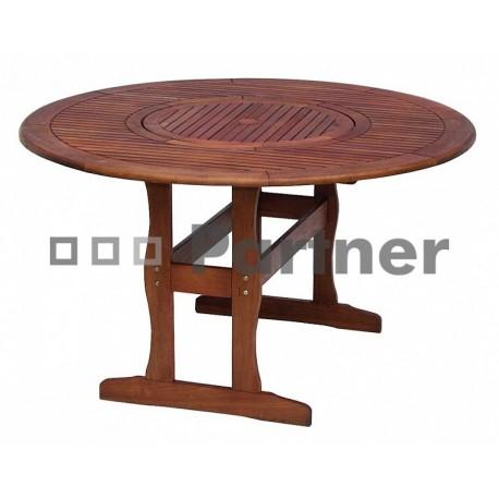 Záhradný stôl kruhový MALAGA
