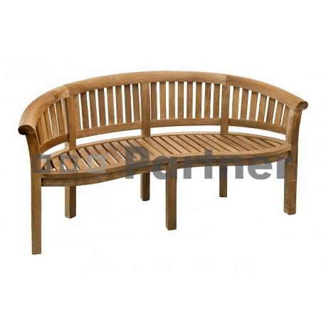 Záhradná lavica teak OMEGA