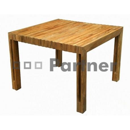 Záhradný stôl teak WELLS