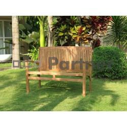 Záhradná teaková lavica HARMONY 150 cm