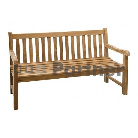Záhradná lavica teak ROMA 120 cm