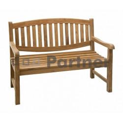 Záhradná lavica teak ALPEN 120 cm