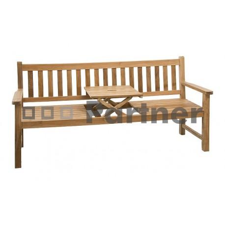 Záhradná lavica teak WINE