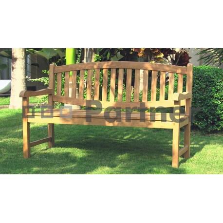 Záhradná teaková lavica BLADE 120 cm