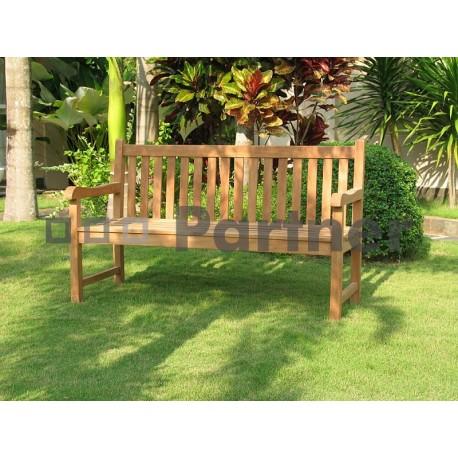 Záhradná teaková lavica FLORENCIE 120 cm