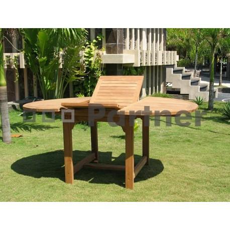 Záhradný obdĺžnikový stôl SANTIAGO 160/210 x 100 cm