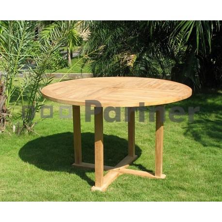 Záhradný pevný stôl ARGON ⌀ 100 cm
