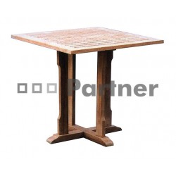 Záhradný stôl teak PERFECT 90