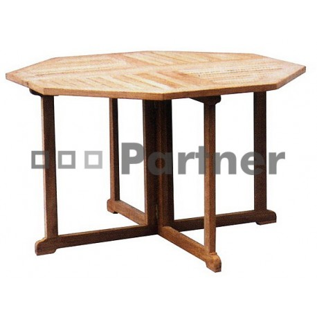 Záhradný stôl teak GENIUS 90