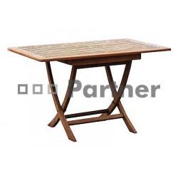 Záhradný stôl teak SMART 120