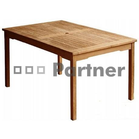 Záhradný stôl teak WINNER 130