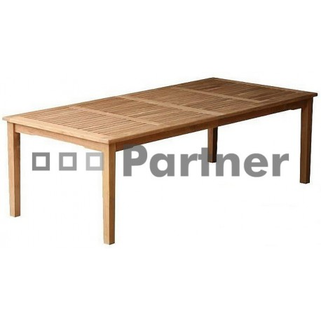 Záhradný stôl teak WINNER 200
