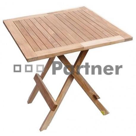 Záhradný stôl teak WINNIPEG 80